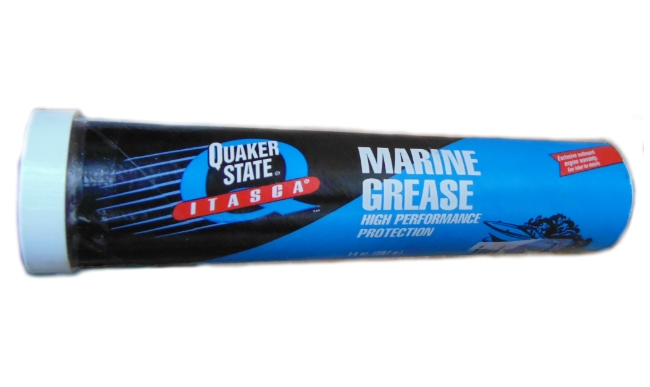 Quaker State synthetic white marine grease