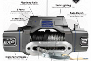 Coming soon... Superwinch EXP series winch