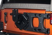 Jeep Wrangler JK Tire Carrier